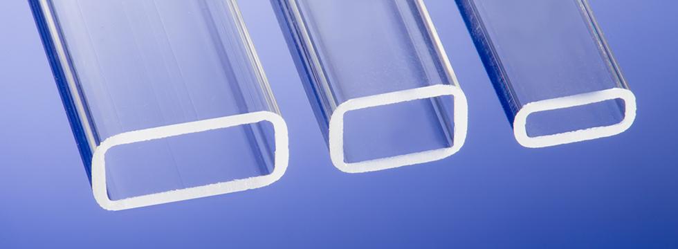 rectangular glass tubes