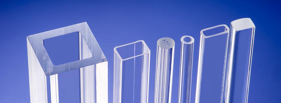square & rectangular glass tube